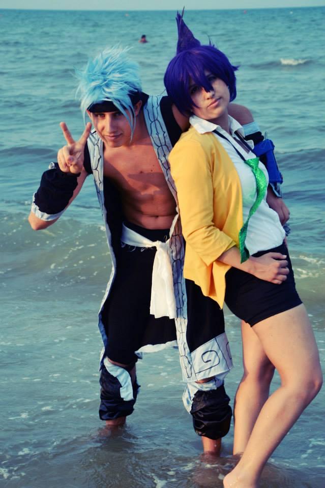 Horo Horo and Tao Ren Cosplay by DarthRey