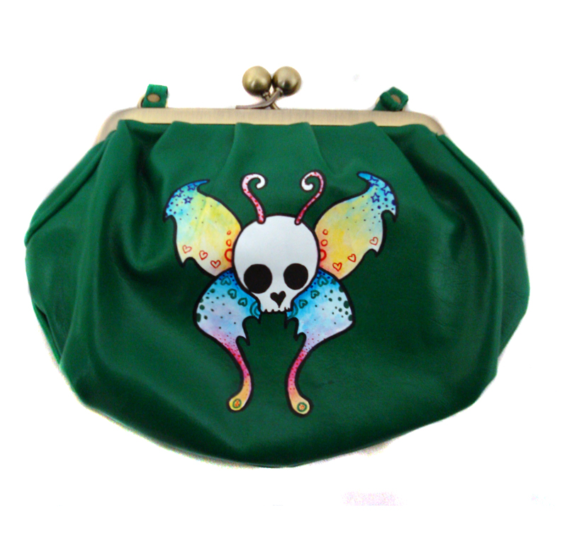 Skullerfly Purse. by miss-bunny-shoes