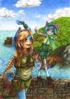 .:Stroll:. by blue-tail
