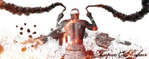 Tupac Shakur by ElMexiGarcia
