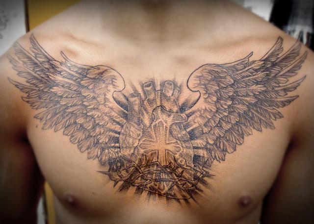 Open Heart With Open Wings By Boywithwings On Deviantart