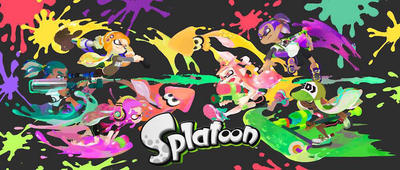 It's Ink-fest battle of showdown war in Splatoon! by PigXChloe