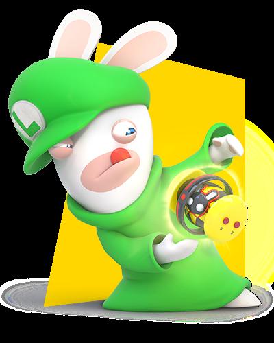 Rabbid Luigi by PigXChloe