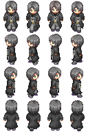 Sprite for RPG by FunkyPencil