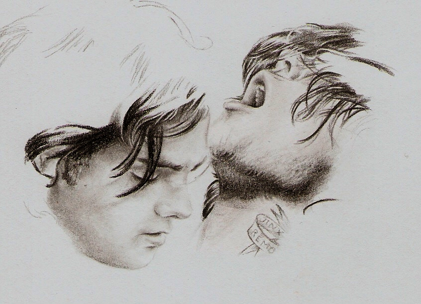 Gerard and Frank by mcr-raven