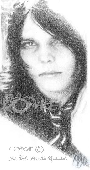 Gerard Way by mcr-raven