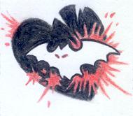 Batheart tattoo - sketch by mcr-raven