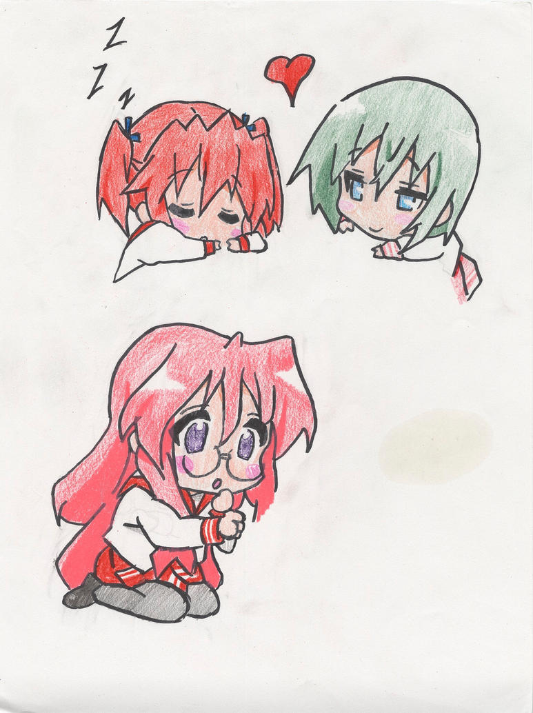 Lucky star miyuki chibi