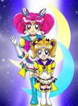Chibi Moon and Chibi Celestial