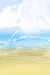 FREE: Beach BG by Magical-Mama