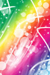 FREE-Rainbow Bubbles BG