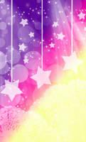 FREE: Pastel Super Stars Background