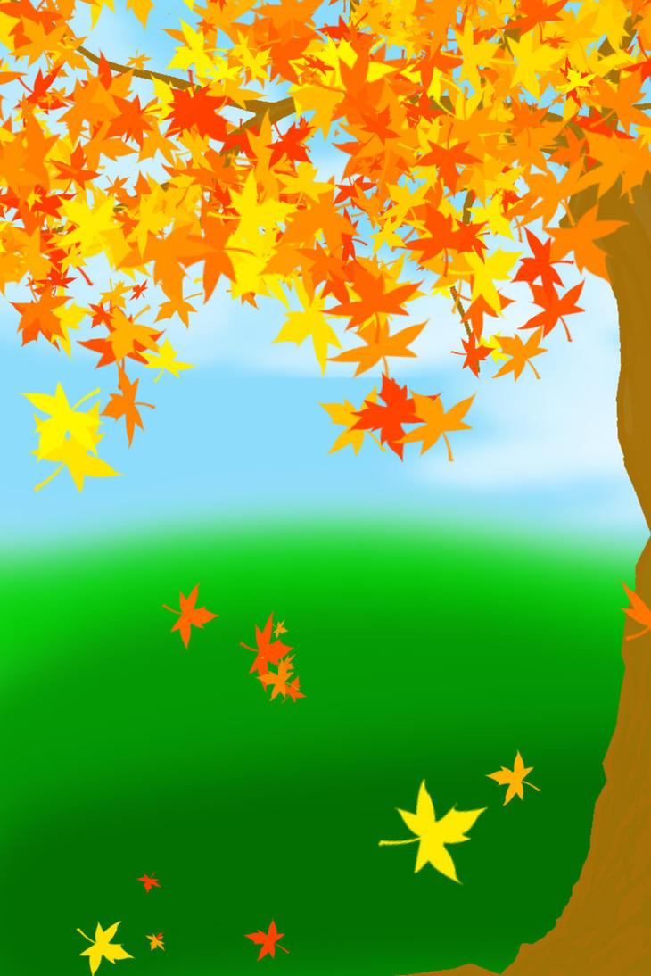 FREE-Autumn Background by YuniNaoki