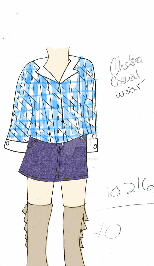 Chelsea: Casual Outfit Design by Magical-Mama