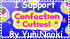 I Support Confection Cuties by YuniNaoki