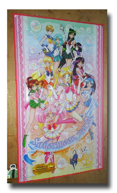 Sailor Moon World Picnic Mat by Magical-Mama