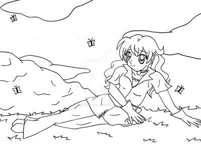 Kei Line Art by Magical-Mama