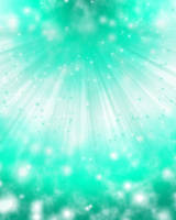 Sea Green Sparkles Background by Magical-Mama