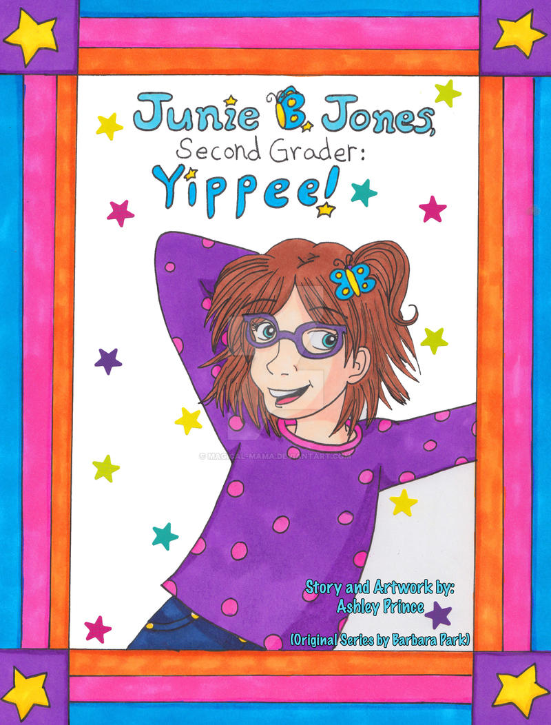 Junie b coloring pages - Magical Mama 11 0 Junie B Jones Second Grader Cover By Magical Mama