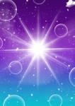 Magical Purple + Blue Background