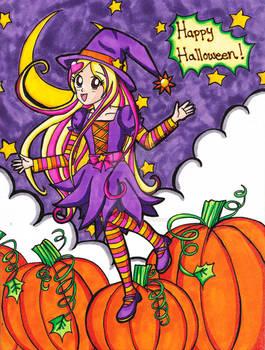 Halloween 2014: Sunbeam Witch