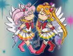 Chibi Gift:Double Moon