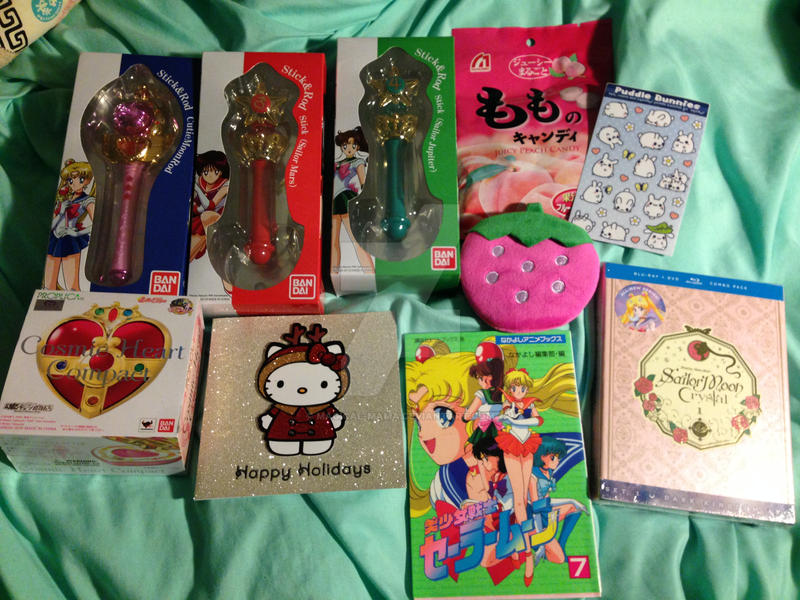 anime japanese christmas gifts 2016 by magical mama