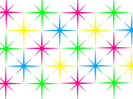 Rainbow Starburst Background: White Version by Magical-Mama