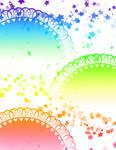 Light Rainbow Lace Background