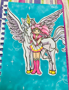 Gift: Pegasus and Super Chibi Moon