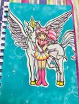 Gift: Pegasus and Super Chibi Moon