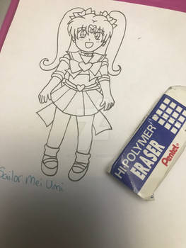 Comm: Custom Fan Senshi-Sailor Mei Umi