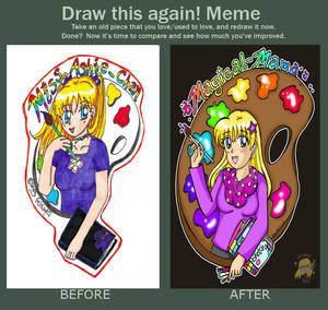Draw This Again! Meme-dA ID: 2003 VS 2020