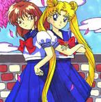 Natsumi and Usagi by Magical-Mama
