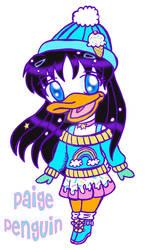 Chibi Anthro: Paige Penguin