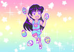 Chibi Rei-Chan: Happy Easter! by Magical-Mama