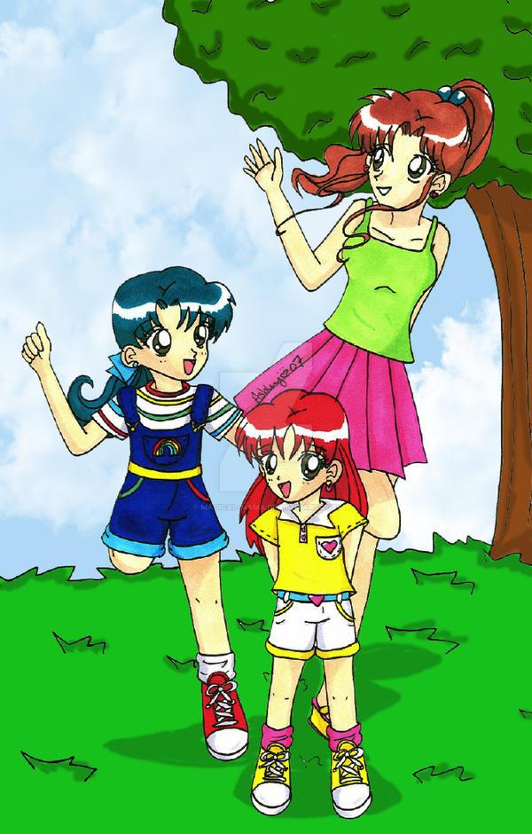 Jupiter Family for Angel Raye by Magical-Mama on DeviantArt