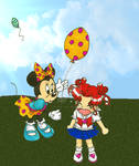 Minnie Mouse and Chibi Chibi