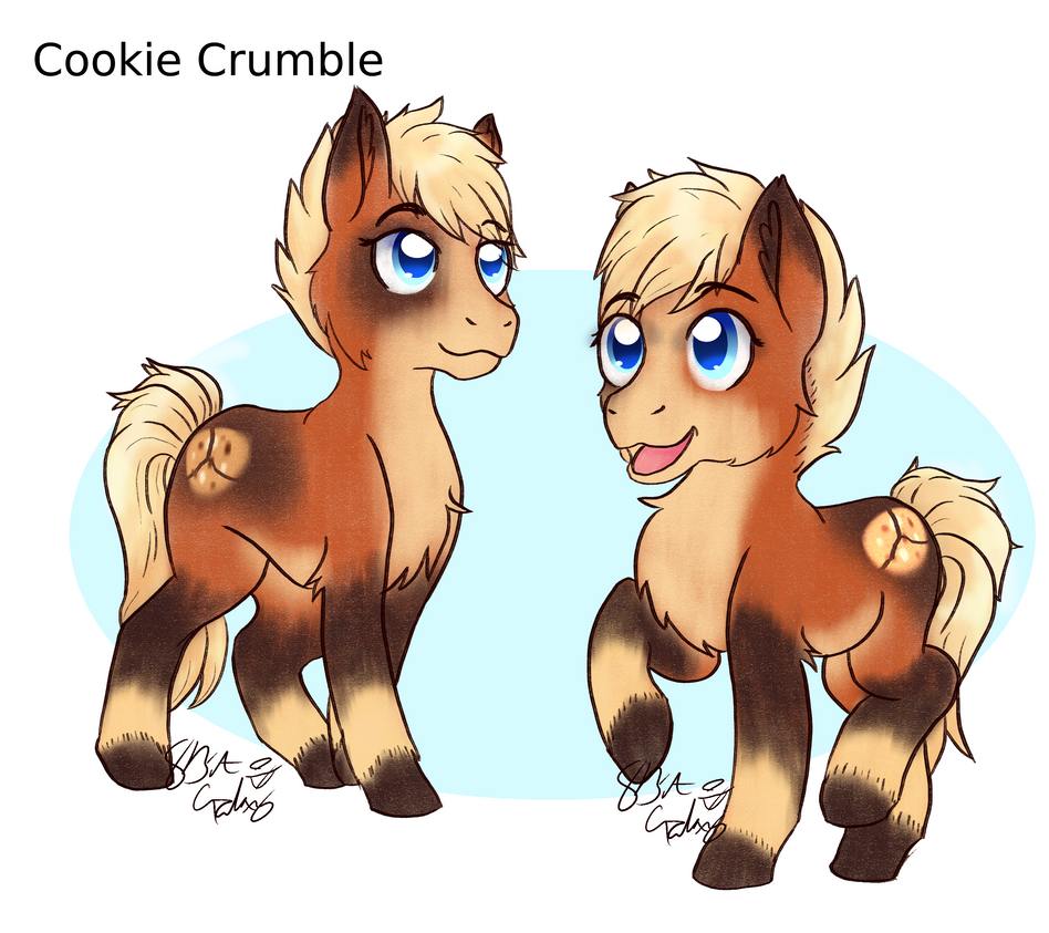 Cookie Crumble (OC) by 8BitGalaxy