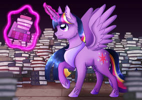 Princess Twilight Sparkle by 8BitGalaxy