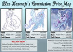 Bluebie's 2013 Commissions Price Map