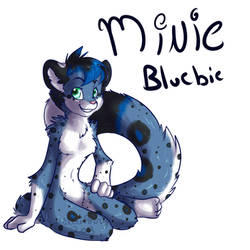 Anthro Mini Bluebie by BlueKazenate