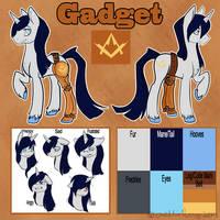Custom MLP OC Ref Sheet Gadget by BlueKazenate