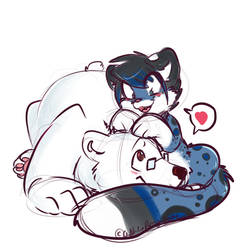 Lovable Cuddles by BlueKazenate