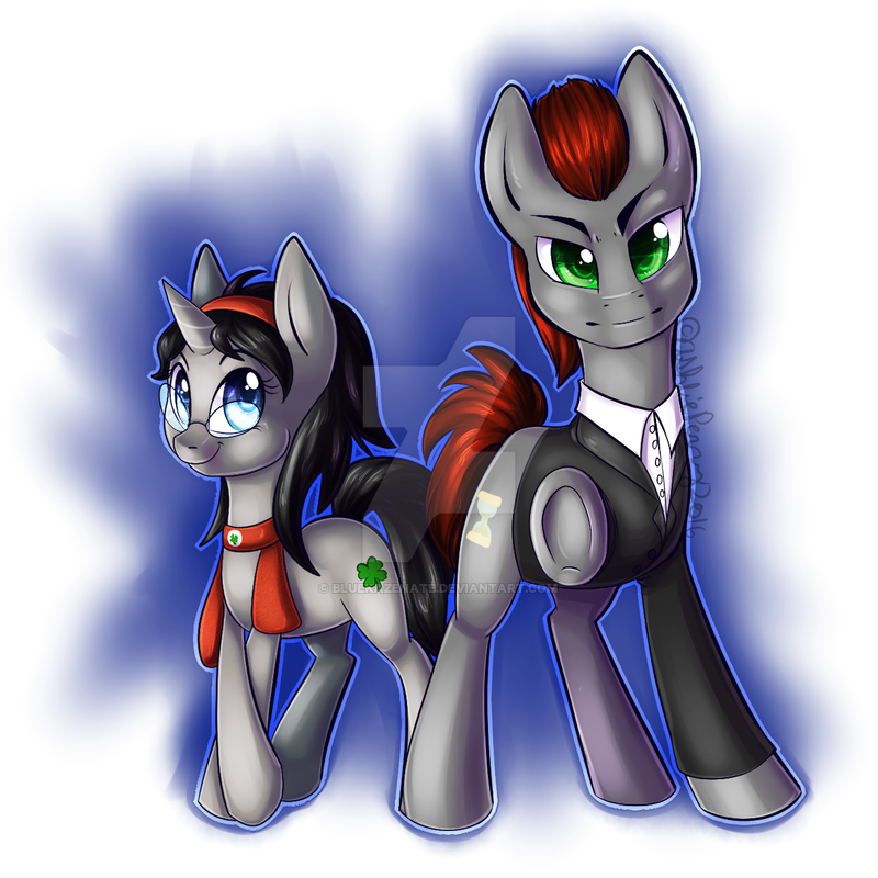 MLP Commission equineproductns by BlueKazenate