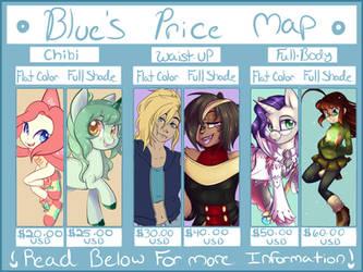 Bluebie's 2017 Price Map by BlueKazenate