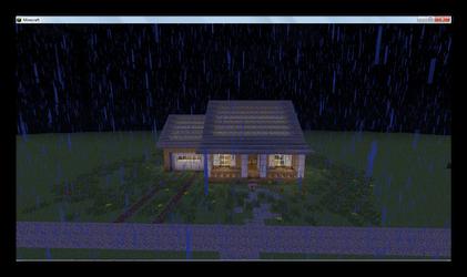 Minha casa Americana (Com Chuva)