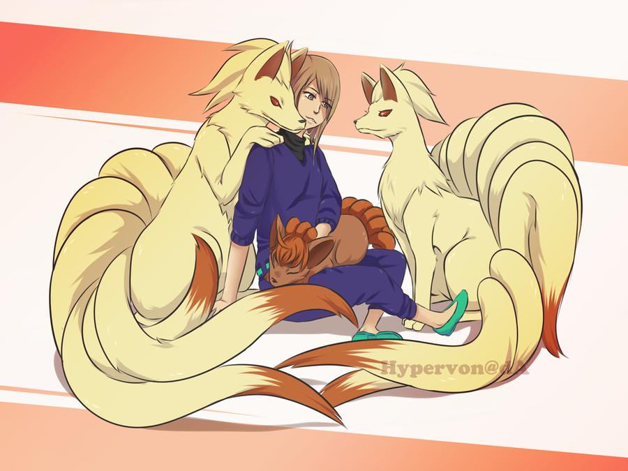 Fox Family by HyperVon