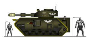 Thunderwolf battle tank - standard configuration