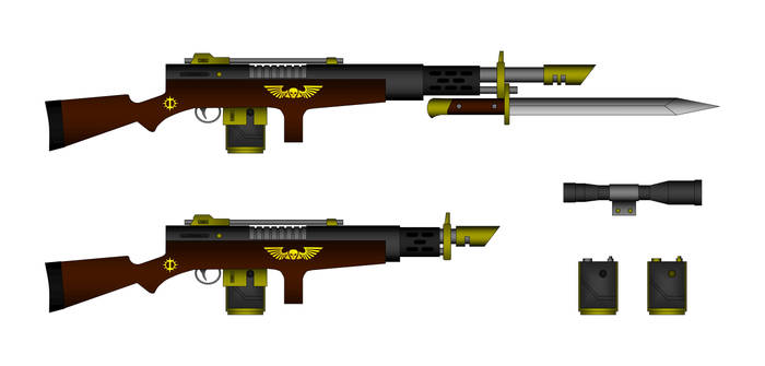 Fedorov pattern Las-Rifle